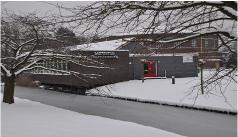 Caroline van der Burg Laurentiusschool foto